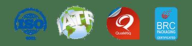 certifications Etik Ouest concepteur et fabricant d'étiquettes pour tous secteurs d'activité