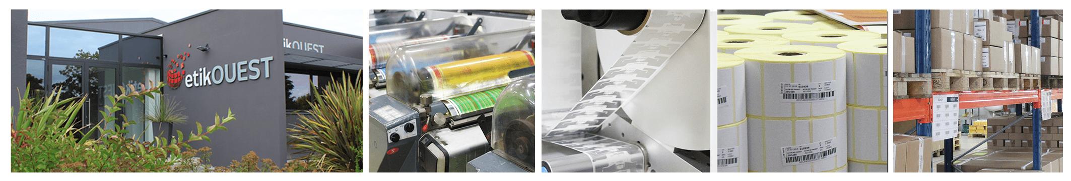 Fabricant d'étiquettes adhésives pour l'industrie, la logistique et le secteur médical