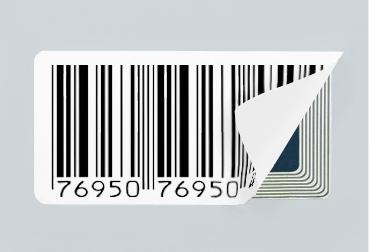 étiquette d'inviolabilité et étiquette antivol
