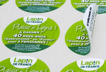 Étiquettes favorisant le recyclage