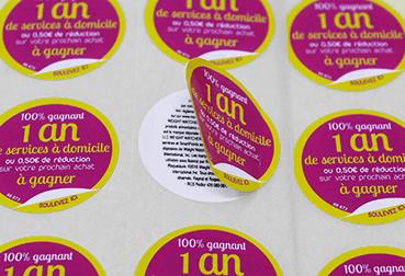 Etiquettes marketing étiquettes livret Etik Ouest concepteur et fabricant d'étiquettes pour tous secteurs d'activité