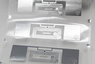 tag RFID conversion inlay étiquettes tags RFID Etik Ouest concepteur et fabricant d'étiquettes pour tous secteurs d'activité