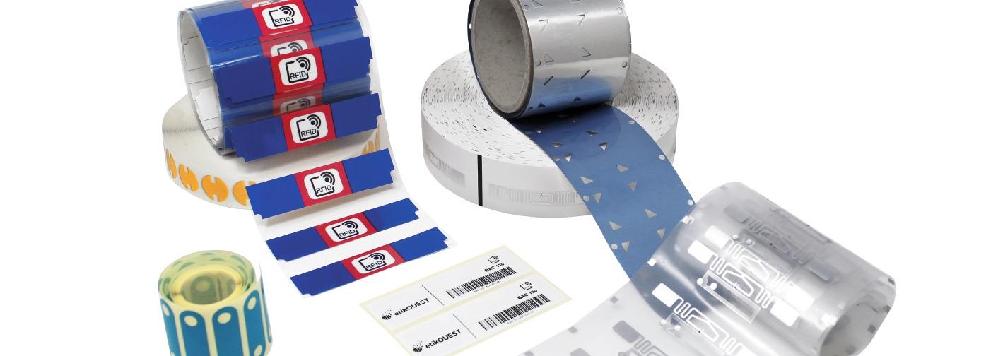 étiquettes tags RFID Etik Ouest concepteur et fabricant d'étiquettes pour tous secteurs d'activité