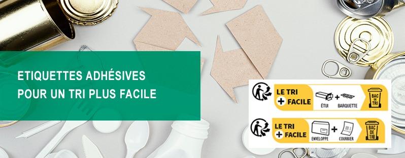 tri selectif, etiquettes recyclages, etiquettes eco-responsables, Etik Ouest